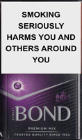 Bond Street Premium Mix Purple Cigarettes pack