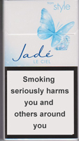 Style Jade Super Slims Ciel Cigarettes pack
