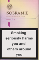 Sobranie KS SS Gold (mini) Cigarettes pack