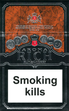 Aroma Rich Rum & Cherry Cigarettes pack