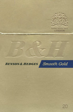 Benson & Hedges Smooth Gold Cigarettes pack