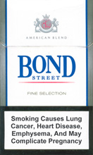 Bond Super Lights (Fine Selection) Cigarettes pack