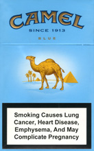 Camel Lights  Blue  Cigarettes packCamel Cigarettes Blue