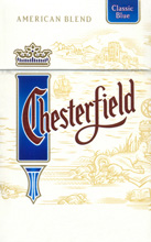 Chesterfield Blue (Lights) Cigarettes pack