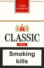 Classic Red Cigarettes pack