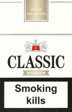 Classic Silver Cigarettes pack