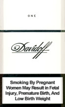 Davidoff One Cigarettes pack