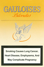 Gauloises Yellow (Ultra Lights) Cigarettes pack
