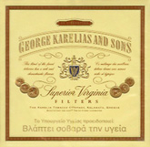 George Karelias And Sons Cigarettes pack