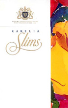 Karelia Slims 100`s Cigarettes pack