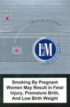 L&M GRI 83 Slims Cigarettes pack