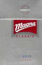 Magna Classic Lights Cigarettes pack