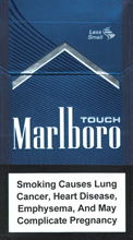 Marlboro Touch (dark-blue) Cigarettes pack