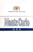 Monte Carlo One (Fine White) Cigarettes pack