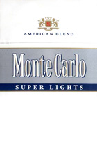 Monte Carlo Super Lights (Subtle Silver) Cigarettes pack