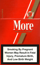 More (Filters) Cigarettes pack