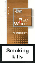 Red&White Super Slims Special Cigarettes pack