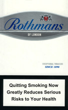 Rothmans Demi Silver