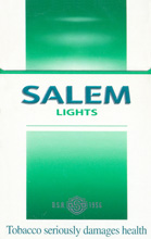 Salem Green (Lights) Menthol