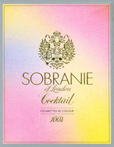 Sobranie Cocktail Cigarettes pack