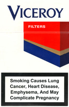 Viceroy Filter (Red) Cigarettes pack